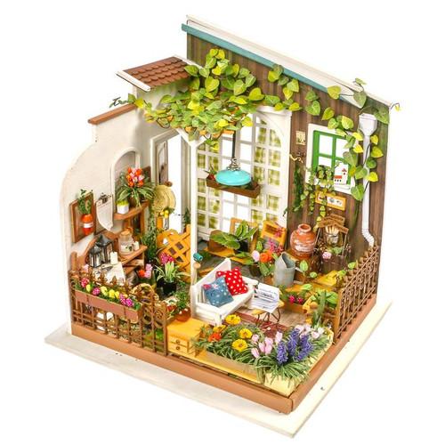 Miller's Garden *Build-Your-Own* Dollhouse Kit | Rolife
