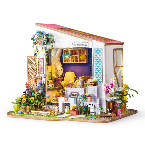"""Lily's Porch"" *Build-Your-Own* Dollhouse Kit 