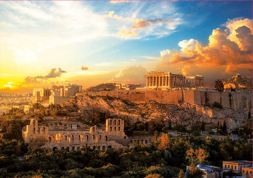 """Acropolis of Athens"" 1000 Piece Jigsaw Puzzle 