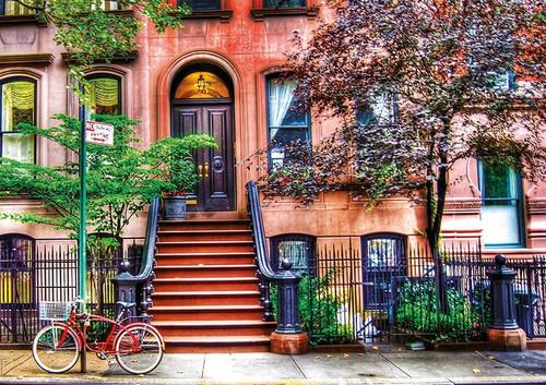 """Greenwich Village"" 1500 Piece Jigsaw Puzzle | Educa"
