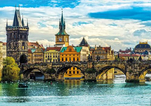 """Prague Views"" 2000 Piece Jigsaw Puzzle | Educa"