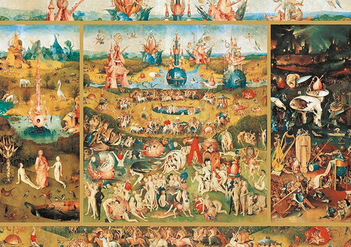 """Garden of Earthly Delights"" 2000 Piece Jigsaw Puzzle | Educa"