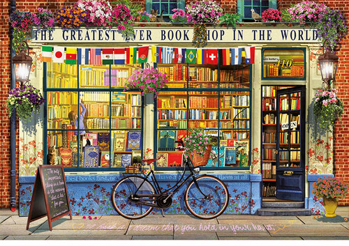 """""""The Greatest Bookshop in the World"""" 5000 Piece Jigsaw Puzzle 