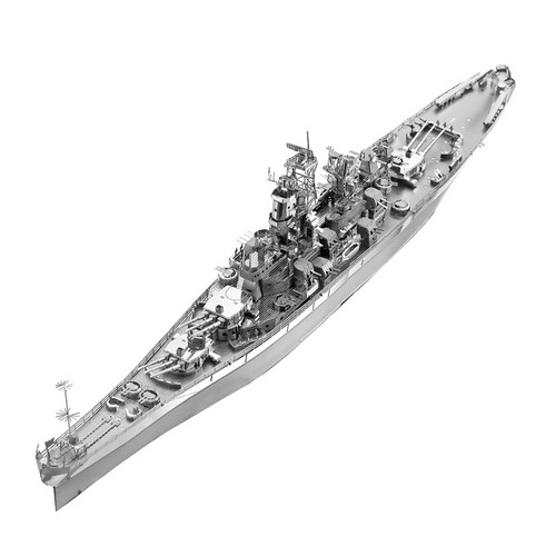 USS Missouri BB-63 Warship Metal Model Kit | Piececool