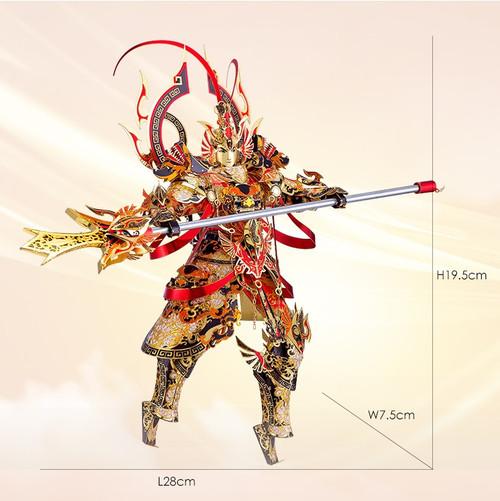 """""""Er-Lang God"""" Metal Model Kit   Piececool"""