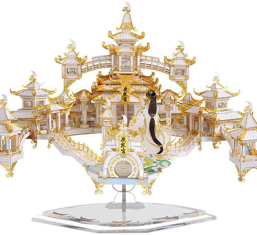 """The Moon Palace"" Metal Model Kit 