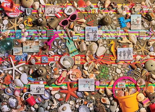 """Beach Scene"" 1000 Piece Jigsaw Puzzle   Cobble Hill"