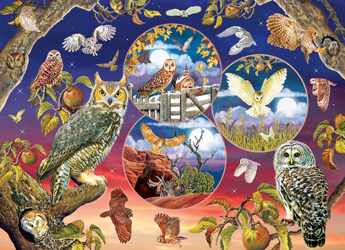 """Owl Magic"" 1000 Piece Jigsaw Puzzle | Cobble Hill"