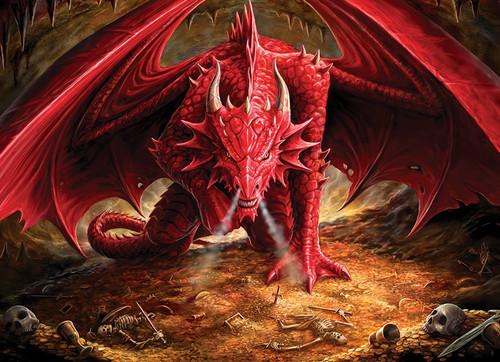"""Dragon's Lair"" 1000 Piece Jigsaw Puzzle | Cobble Hill"