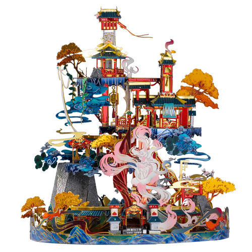 """Palace of Huli Jing"" (Nine-Tailed Fox Legend) Metal Model Kit 