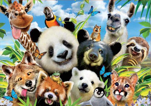 """Llama Drama Selfie"" 1000 Piece Jigsaw Puzzle | Educa"