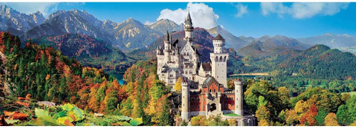 """Neuschwanstein"" 1000 Piece *Panorama* Jigsaw Puzzle | Clementoni"
