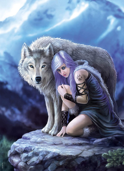 """""""Protector"""" Anne Stokes 1000 Piece Jigsaw Puzzle 