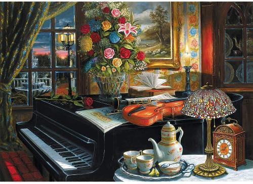 """Sounds of Music"" 2000 Piece Jigsaw Puzzle | Trefl"