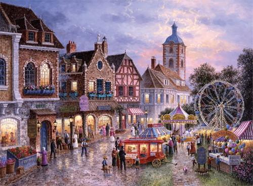 """Amusement Park"" 3000 Piece Jigsaw Puzzle   Trefl"