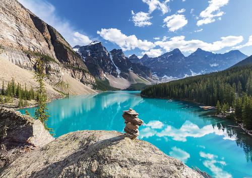 """Banff, Alberta"" 1000 Piece Jigsaw Puzzle   Trefl"