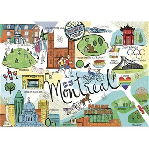 """Montreal, Farida"" 1000 Piece Jigsaw Puzzle   Trefl"