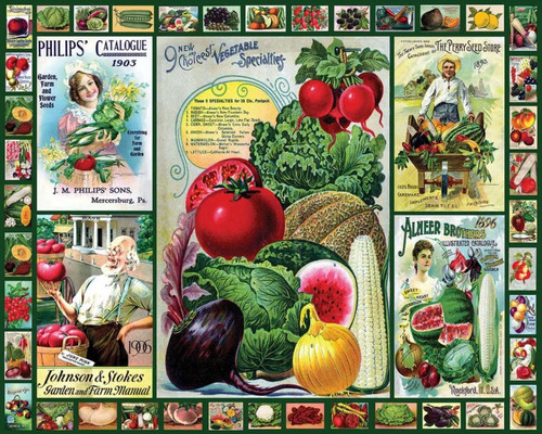 """Everything for the Garden"" 1000 Piece Jigsaw Puzzle 