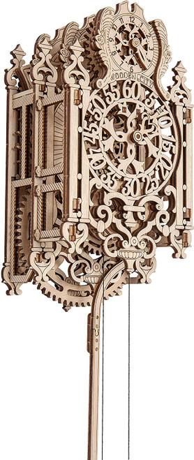 """Royal Clock"" Mechanical Wooden Model Kit | Wooden City"