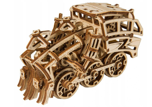 """Dream Express"" Mechanical Wooden Model Kit 