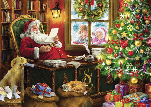 """""""Santa and His Accomplices"""" 1000 Piece Jigsaw Puzzle   Trefl"""