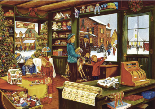 """""""The General Store"""" 1000 Piece Jigsaw Puzzle   Trefl"""