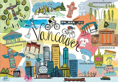 """Vancouver"" Farida 1000 Piece Jigsaw Puzzle   Trefl"