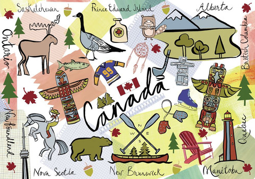 """Canada"" Farida 1000 Piece Jigsaw Puzzle   Trefl"
