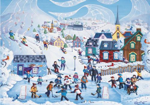 """Winter Vacation"" 1000 Piece Jigsaw Puzzle   Trefl"