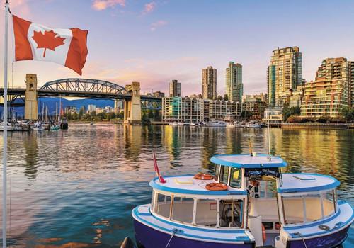 """Vancouver Burrard Bridge"" 1000 Piece Jigsaw Puzzle   Trefl"