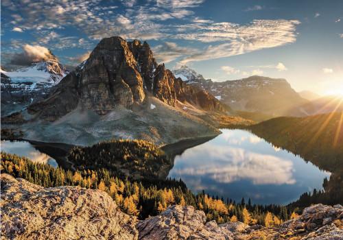 """Cerulean Lake, Alberta"" 1000 Piece Jigsaw Puzzle | Trefl"