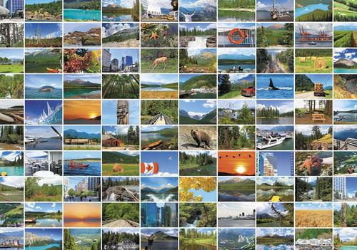 """""""Canadian Mosaic"""" 1000 Piece Jigsaw Puzzle   Trefl"""