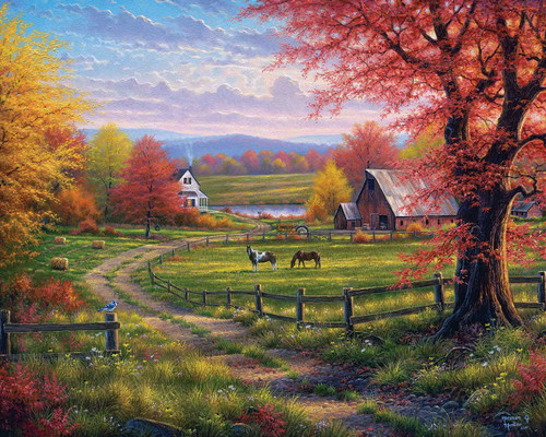 """""""Peace & Tranquility"""" 1000 Piece Jigsaw Puzzle 