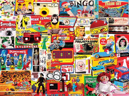 """I Remember Those"" 300 *Large Piece* Jigsaw Puzzle | White Mountain"