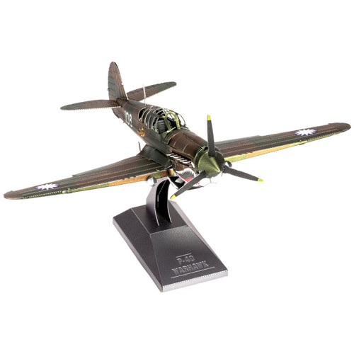 P-40 Warhawk Metal Model Kit | Metal Earth