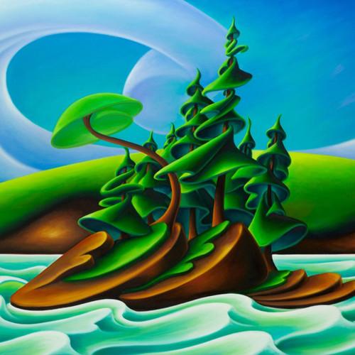 """Leaving Mayne Island"" 750 Piece *Random Cut* Jigsaw Puzzle | StandOut"