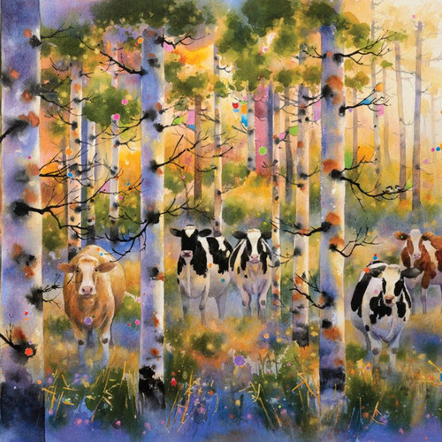 """Seasons Come and Seasons Go"" 750 Piece *Random Cut* Jigsaw Puzzle 