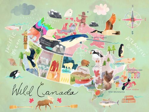 """Wild Canada"" 750 Piece *Random Cut* Jigsaw Puzzle | StandOut"