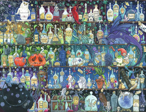 """""""Poisons and Potions"""" 2000 Piece Jigsaw Puzzle 