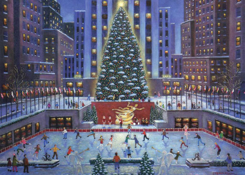 """NYC Christmas"" 1000 Piece Jigsaw Puzzle 