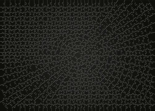 """Krypt - Black"" 736 Piece Jigsaw Puzzle | Ravensburger"