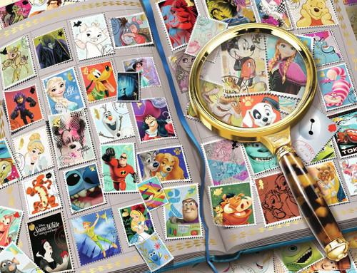 """My Favorite Stamps"" Disney Stamp Album 1000 Piece Jigsaw Puzzle   Ravensburger"