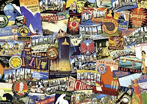 """Road Trip USA"" 1000 Piece Jigsaw Puzzle | Ravensburger"