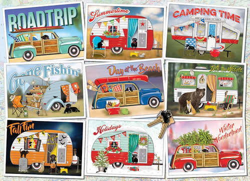 """Hitting the Road"" 1000 Piece Jigsaw Puzzle 