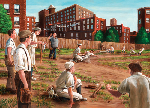 """""""Old Time Baseball"""" 1000 Piece Jigsaw Puzzle 