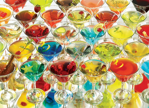 """Martinis!"" 1000 Piece Jigsaw Puzzle 