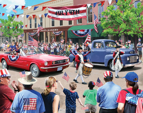 """""""4th of July Parade"""" 1000 Piece Jigsaw Puzzle 