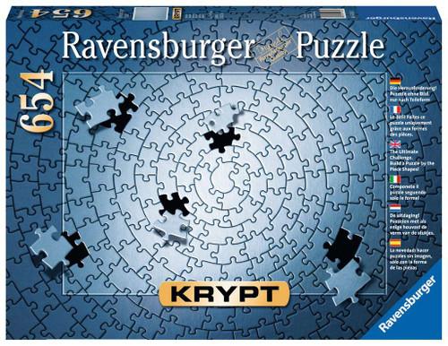 """Krypt - Silver"" 654 Piece Jigsaw Puzzle | Ravensburger"