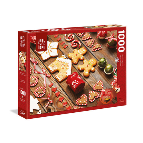 """Adorable Ginger Breads"" 1000 Piece Jigsaw Puzzle 