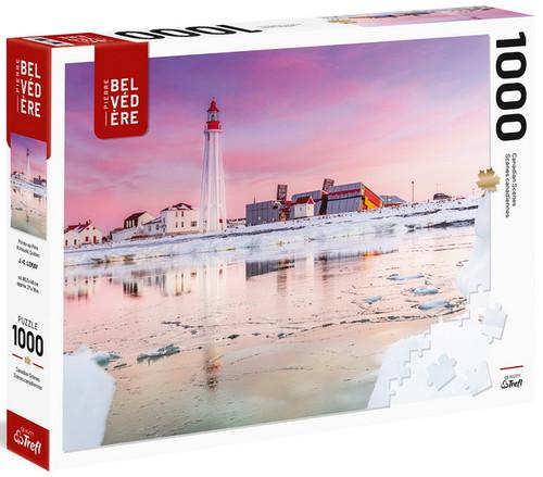 """Lemay Pointe-Au-Père Rimouski"" 1000 Piece Jigsaw Puzzle | Trefl"